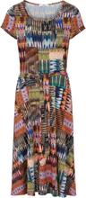 Jerseykleid Peter Hahn mehrfarbig