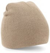 Beanie Knitted Hat Stone