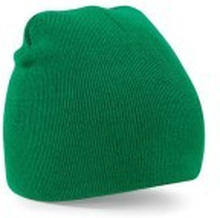 Beanie Knitted Hat Kelly Green