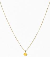Caroline Svedbom Classic Petite Necklace Gul