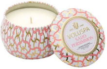 Voluspa Saijo Persimmon Decorative Tin Candle