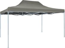 vidaXL Pop-Up hopfällbart tält 3x4,5 m antracit