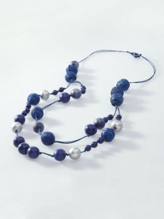 Halsband från Peter Hahn blå