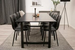 Matgrupp Canet bord och 8 st Penally stolar