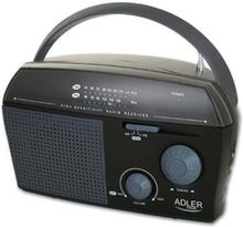 Radio - AM/FM - Svart