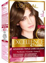 Excellence 5 Natural Light Brown Permanent Hårfärg