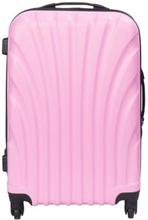 Kuffert - Lyserød - Hard case kuffert - Stødsikkert polypropylen