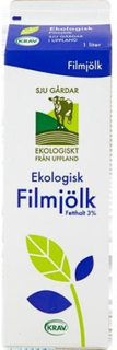 Filmjölk Ekologisk 3%