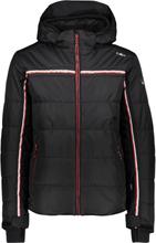 CMP Man Jacket Zip Hood (38W0537) Herre skijakker fôrede Sort 52
