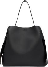 Acne Studios Black Maxi Musubi Bag