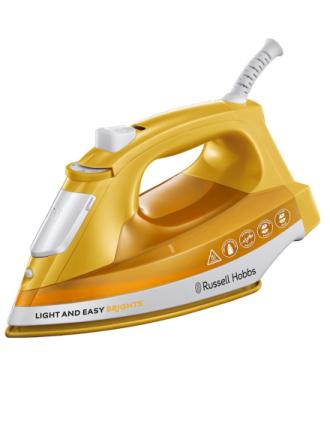 Dampstrykejern Russell Hobbs Light & Easy Brights Aqua Russell Hobbs gul