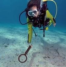 UWM 20 Underwater metal detector