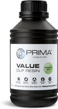 Prima Transparent grøn UV-resin - 500 ml