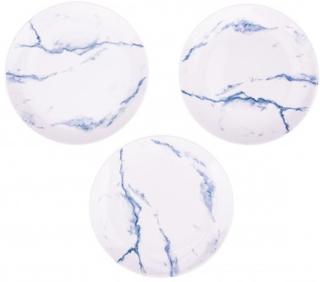 BasicsHome Marmor Tallerkner 20 cm 3 stk
