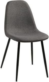 Signe – Grå vadderad stol