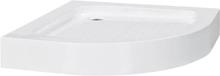 vidaXL Suihkualusta 70x70x13 5 cm akryyli valkoinen