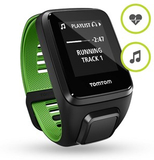 TomTom Runner 3 Cardio + Music (Black / Green) L