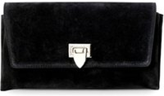 Sort Decadent - Nora Small Clutch Suede Black