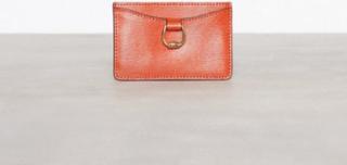 Lauren Ralph Lauren Mini Card Case Small Plånböcker Orange