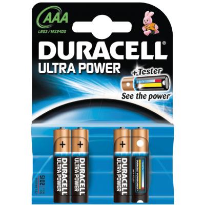 Duracell AAA Ultra Power 4 stk