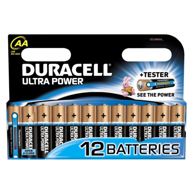 Duracell AA Ultra Power 12 stk