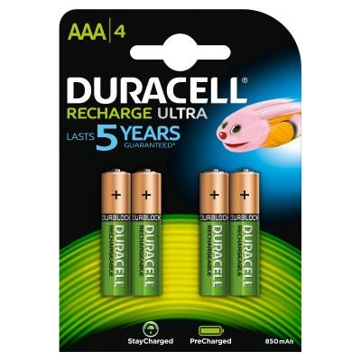 Duracell AAA Recharge Ultra (wiederaufladbar) 4 stk
