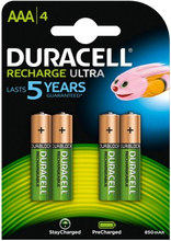 Duracell AAA Recharge Ultra 4 kpl