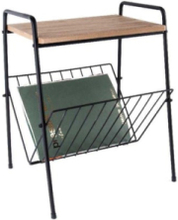 Side table w. Rack
