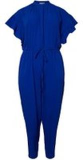 JUNAROSE Vævet Jumpsuit Kvinder Blå