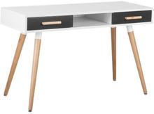 Työpöytä valkoinen/ harmaa FRISCO