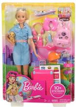 Barbie Dreamhouse Docka & Reseset