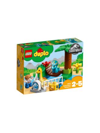DUPLO 10879 De blide kæmpers børne-zoo - Proshop