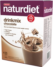 Naturdiet drinkmix 25 annosta Chocolate