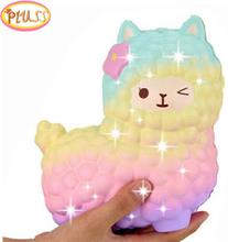 jumbo sheep alpaca squishy cute galaxy slow rising animal squishy squish wholesale exquisite kids gift
