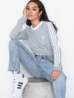 Adidas Originals 3 Str Ls Tee Långärmade toppar