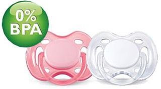 Philips Avent Napp Rosa/Vit 0-6 månader - Freeflow 2-pack