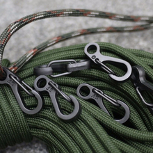 10pcs Spring Backpack Clasps Climbing Carabiners EDC Keychain Camping Bottle Hooks Tactical Survival Gear Quickdraw Equipment