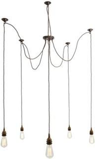 Mullan Lighting Lome taklampa - Polished copper