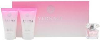 Versace Bright Crystal Gåvoset 5ml Eau De Toilette + 25ml Body Lotion + 25ml Shower Gel