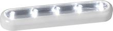 Batteridriven lampa LED Vit