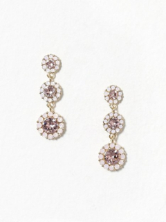 Lily and Rose Petite Sienna Earrings Øreringe Vintage Rose