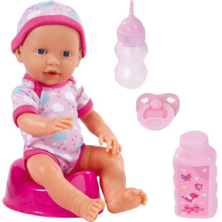 Bayer babydukke Piccolina Newborn Baby 30 cm 93023AA - VidaXL