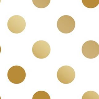 Superfresco Easy - Tapet non-woven Prikker - Guld - 1005x53 cm