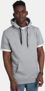 Urban Classics TB1108 Long Side Zipped Hoody Grey