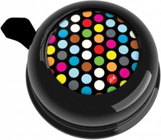Liix, Colour Ringklocka - Polka Dots Mix Svart