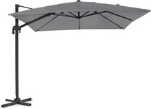 LINZ Frihängande Parasoll Grå