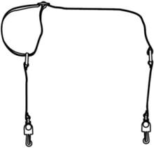 RUG SHOULDR STRAP W/METAL CLIP ACCS