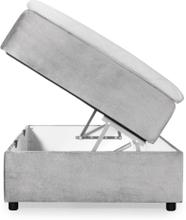 DANVIK 90 Boxsäng Ljusgrå
