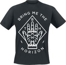 Bring Me The Horizon - Diamond Hand -T-skjorte - svart