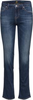 Marion Straight Raka Jeans Blå Lee Jeans